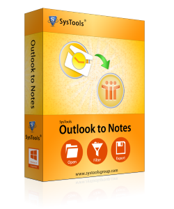 outlook to lotus notes box